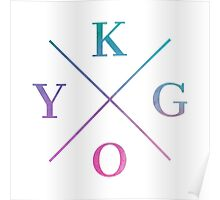 Kygo - Abstract Color Poster