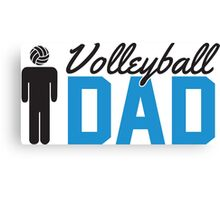Volleyball Dad Canvas Print