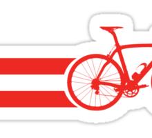 Bike Stripes Austria Sticker