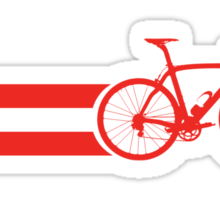 Bike Stripes Austria Sticker