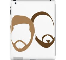 Adam and Bruce's Beards iPad Case/Skin