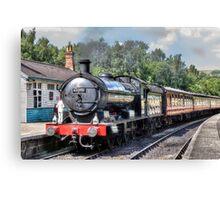 63395 - Q6 Class Locomotive Canvas Print