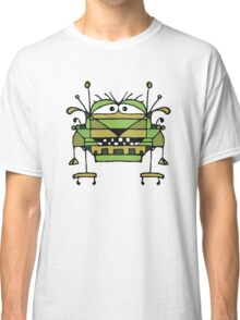 Funny Robot Cartoon Classic T-Shirt