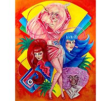 Jem and the Holograms Photographic Print