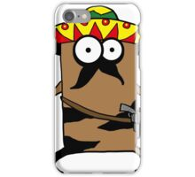 mexican cat iPhone Case/Skin