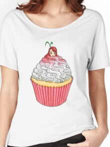 Cute Cupcake Girl Women's Relaxed Fit T-Shirt