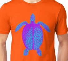 Psychedelic Turtle Brain Unisex T-Shirt