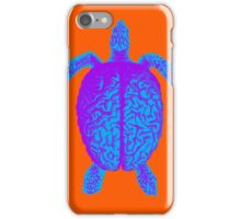 Psychedelic Turtle Brain iPhone Case/Skin