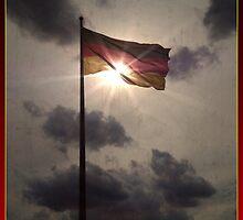 Die Deutsche Fahne @Bundestag by kc135