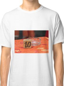 restaurant table Classic T-Shirt