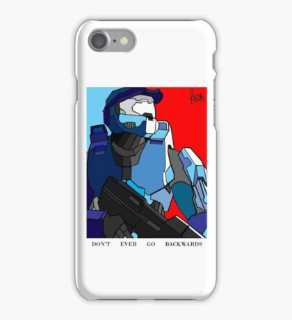 Don't Ever Go Backwards iPhone Case/Skin