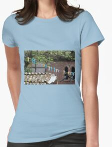 angle architectural Womens Fitted T-Shirt