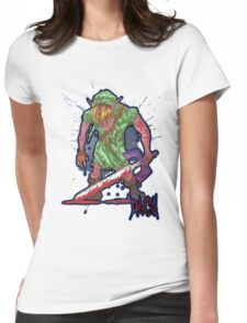 Post-Battle Link Womens Fitted T-Shirt
