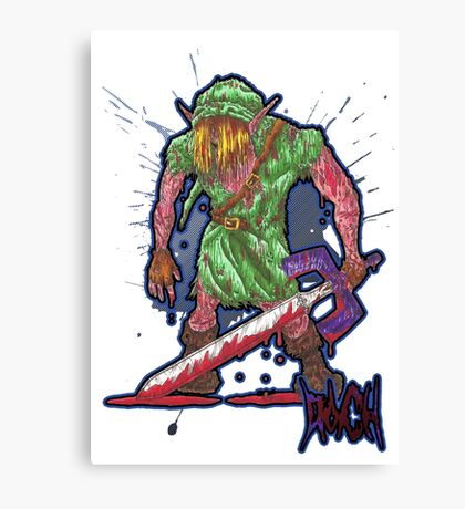 Post-Battle Link Canvas Print