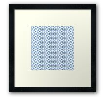 Abstract Ornament Tiles Framed Print