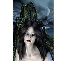 Mistress of the night Photographic Print