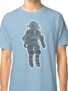 Atmospheric Diving Suite 1882 - Asphalt On White Classic T-Shirt