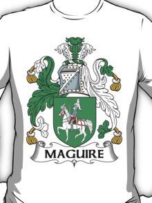 Maguire Coat of Arms (Irish) T-Shirt