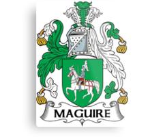 Maguire Coat of Arms (Irish) Metal Print