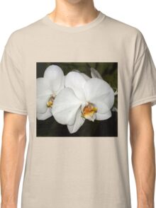 White orchids tee Classic T-Shirt