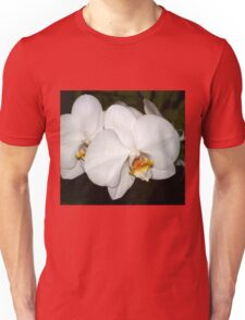 White orchids tee Unisex T-Shirt