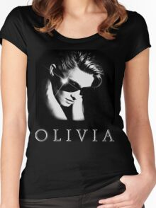 Olivia Newton-John - 1980's - Two Of A Kind Women's Fitted Scoop T-Shirt