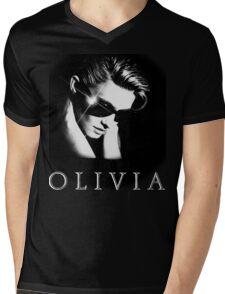 Olivia Newton-John - 1980's - Two Of A Kind Mens V-Neck T-Shirt