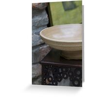 ceramic vases Greeting Card