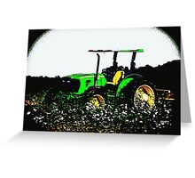Tractors 6550 Greeting Card