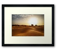 The Algerian Sahara Framed Print