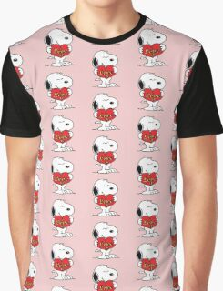 love you snoopy love Graphic T-Shirt