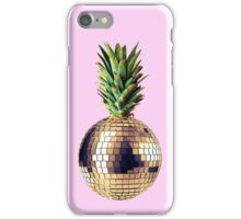Ananas party (pineapple) pink version iPhone Case/Skin