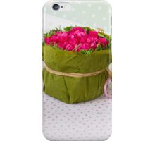 decoration with flowers iPhone Case/Skin