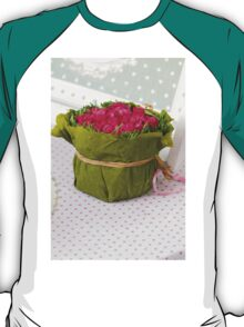 decoration with flowers T-Shirt