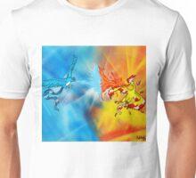 Legendary Battle: Moltres VS Articuno Unisex T-Shirt