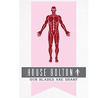 House Bolton Sigil Photographic Print