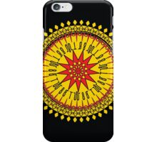 النار والذهب (Fire And Gold)  iPhone Case/Skin