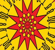 النار والذهب (Fire And Gold)  Sticker