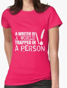 Person Womens Fitted T-Shirt
