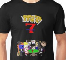 Gamebuster911TV's Lucky Seven Year Anniversary (All Characters) Unisex T-Shirt