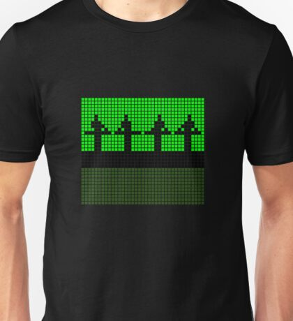 PIXEL8 | Power Station | Green Stage Unisex T-Shirt