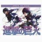 Mikasa X Eren  by AlluringVice