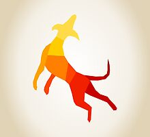 Abstract dog by Aleksander1