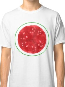 Watermelon Whorls - Natural Pattern Classic T-Shirt