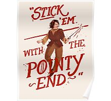 The pointy end Poster