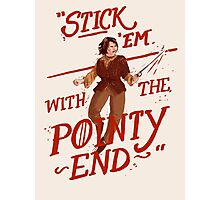 The pointy end Photographic Print