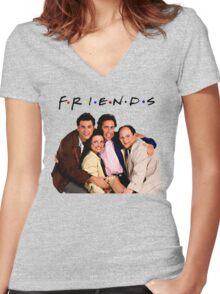 SEINFELD Women's Fitted V-Neck T-Shirt