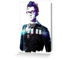 David Tennant - Doctor Who Greeting Card