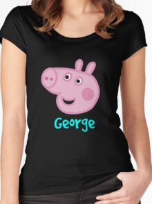 George Women's Fitted Scoop T-Shirt