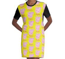 peppa Graphic T-Shirt Dress
